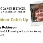 Anne Robinson Cambridge University Press