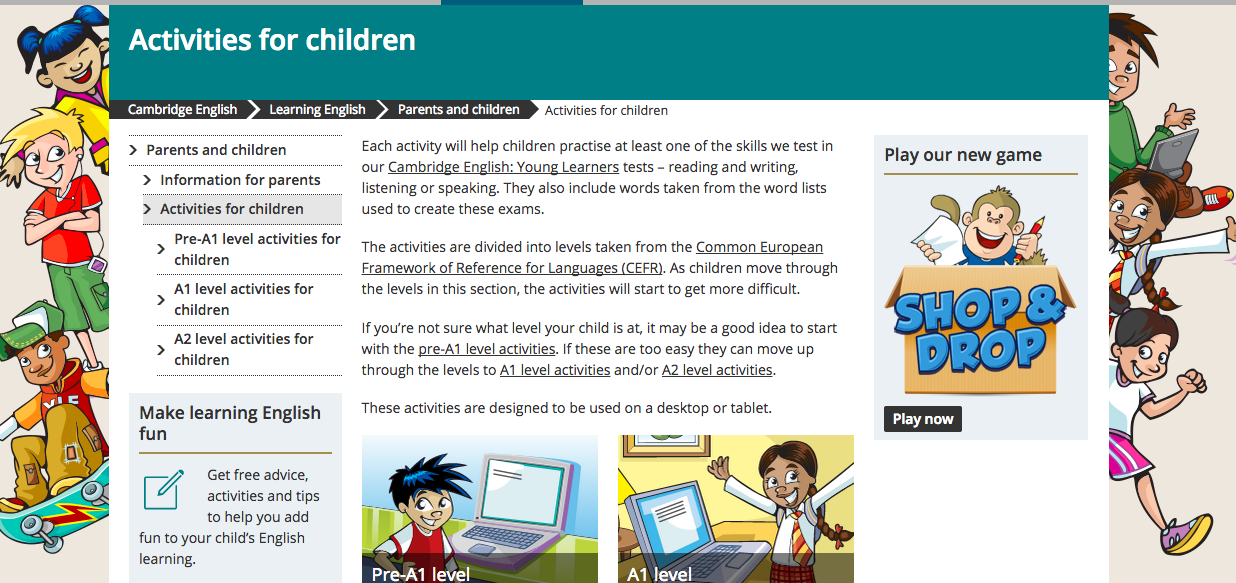 Teaching Together Free activities for Pre A1, A1 and A2 from