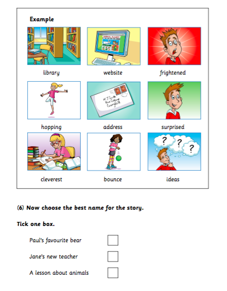 Teaching Together How to do well in A1 Movers Reading and