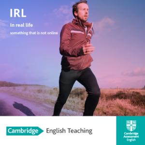 Source: Cambridge English Teaching Facebook